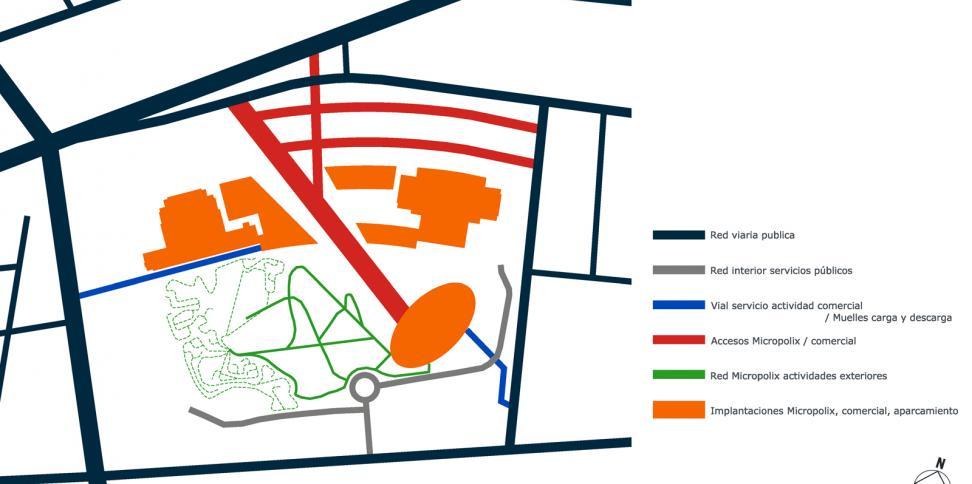 © Bogdanov Arquitectes – diagrama accesibilidades
