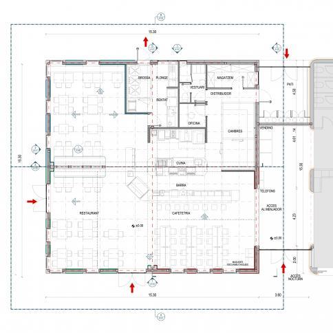 © Bogdanov Arquitectes – sección constructiva