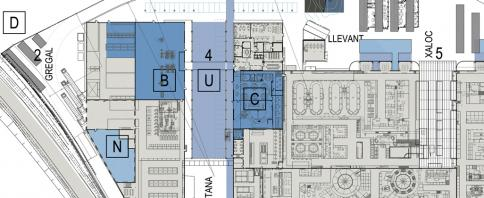 © Bogdanov Arquitectes – un detalle del masterplan