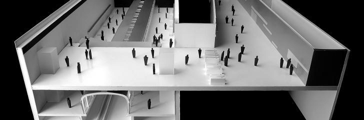 © Bogdanov Arquitectes – maqueta de estudio