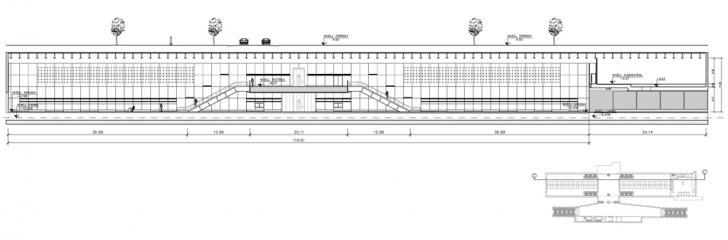 © Bogdanov Arquitectes – Parc Logistic, sección